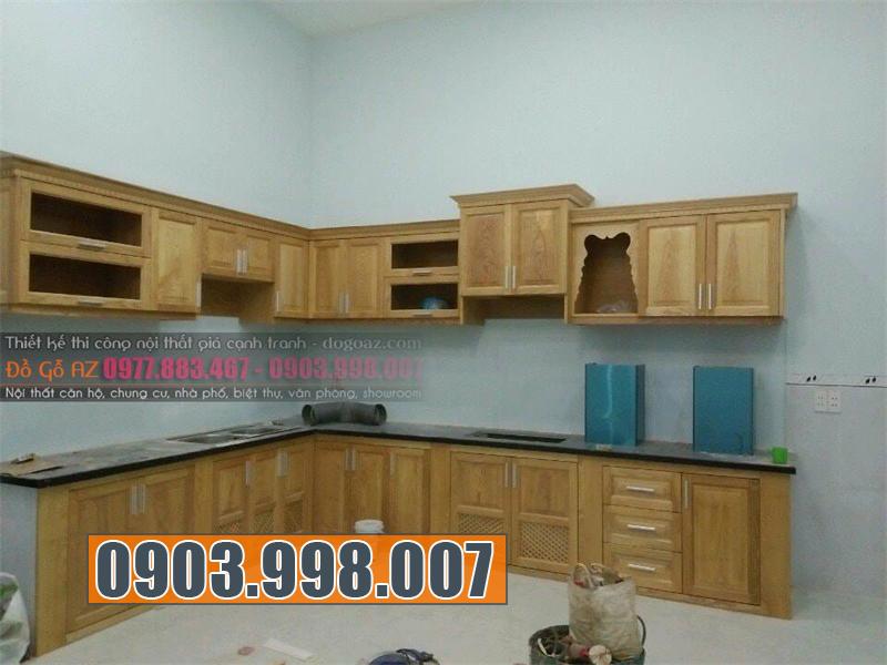 Cơ sở thi công nội thất nhà bếp tốt ở Tphcm