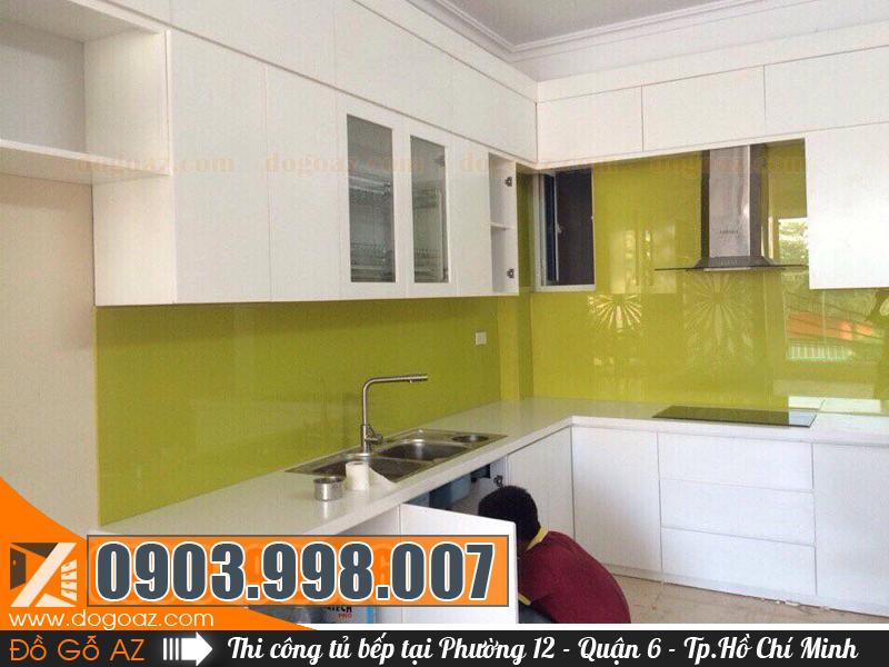 Công ty Nội Thất AZ làm tủ bếp ở Phường 12 Q6 Thành Phố Hồ Chí Minh