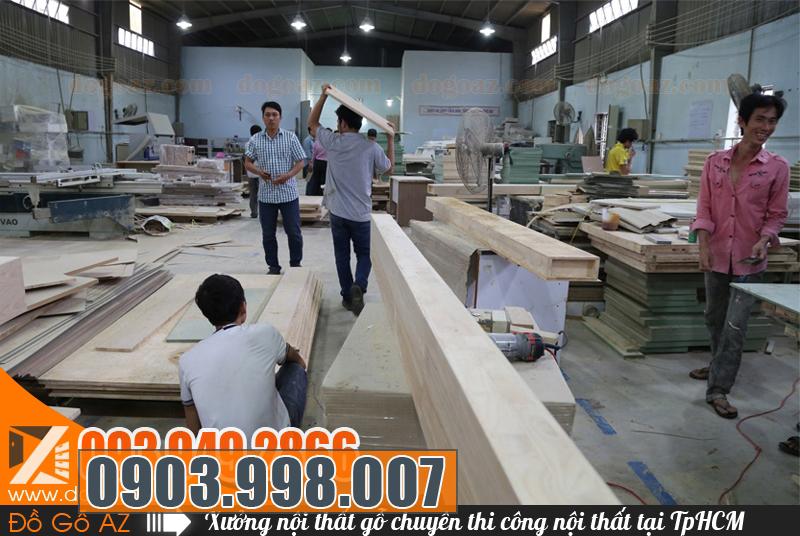 Địa chỉ thi công nội thất gỗ nguyên căn trọn gói uy tín tại TPHCM