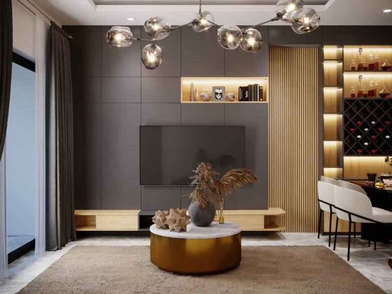 Đơn vị thiết kế và thi công nội thất chung cư tại quận 9 tphcm.