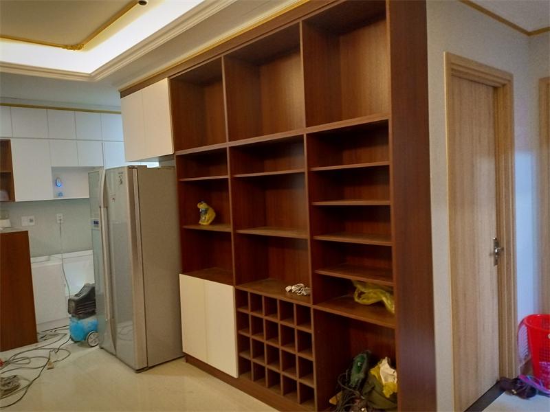 Đóng nội thất gỗ chung cư trọn gói tại quận Thủ Đức TpHCM