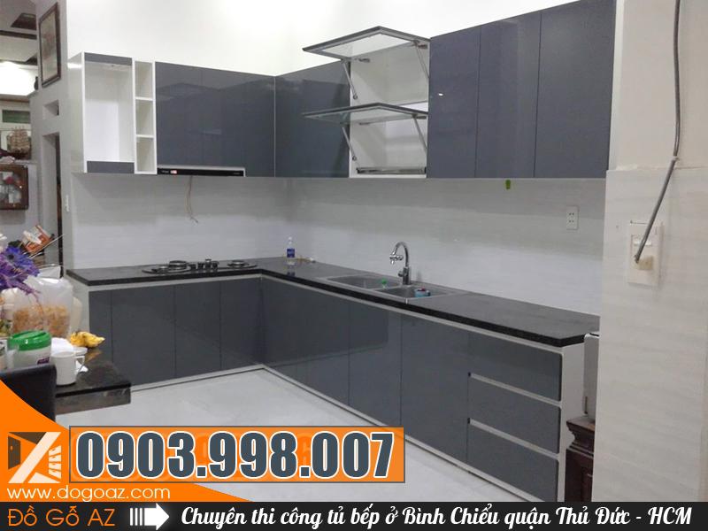 Đóng tủ bếp tại Bình Chiểu quận Thủ Đức TpHCM