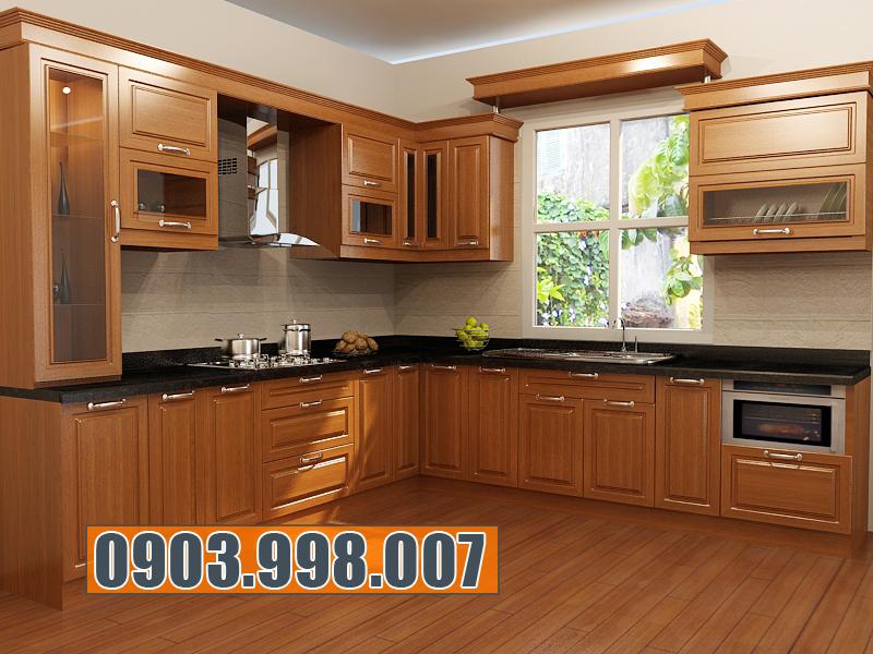 Nên chọn đóng tủ bếp bằng gỗ công nghiệp hay gỗ tự nhiên