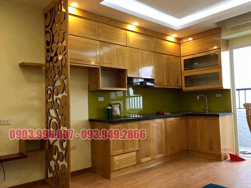 Nơi cung cấp tủ bếp gỗ giá rẻ tại Sài Gòn.