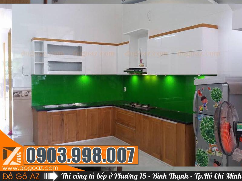Showroom tủ bếp HCM - Tủ bếp Phường 15 Quận Bình Thạnh