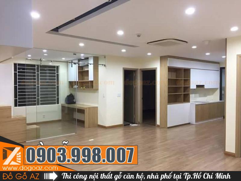 Thi công hoàn thiện nội thất gỗ tại TpHCM