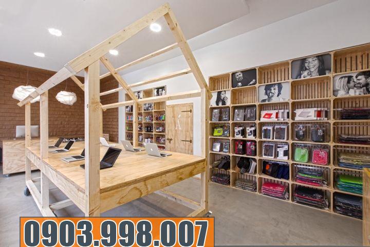 Thiết kế nội thất showroom cửa hàng đẹp và đẳng cấp