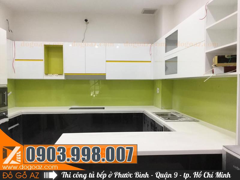 Tủ bếp Acrylic tại Phước Bình Quận 9 TPHCM