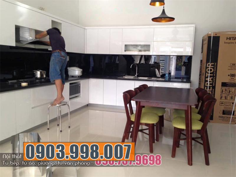 Tủ bếp chung cư giá rẻ uy tín tại thị trường nội thất TPhcm
