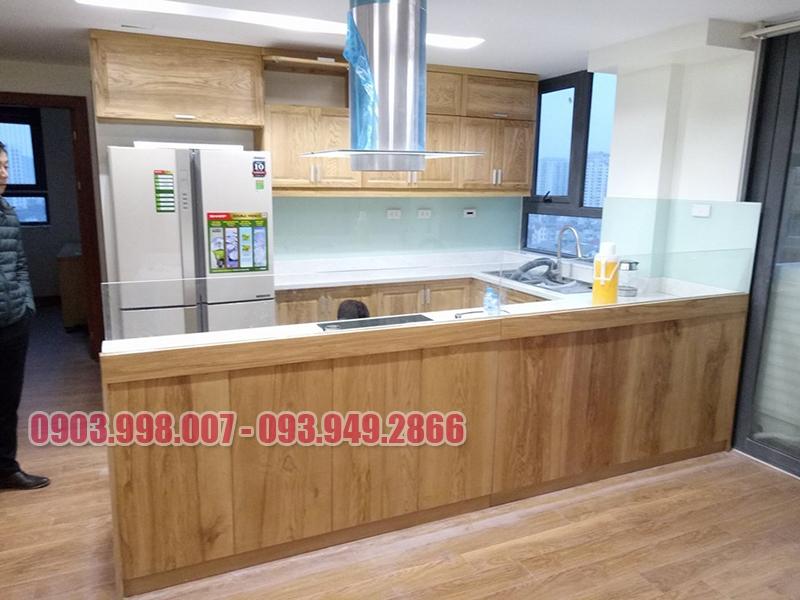 Tủ bếp gỗ cao cấp giá rẻ tại HCM
