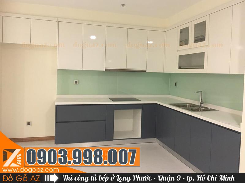 Tủ bếp ở Long Phước, Quận 9 đẹp cho nhà bạn